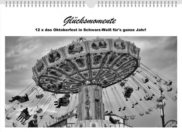 "Wandkalender ""Oktoberfest Schwarz-Weiß"""