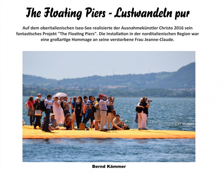 """Buch """"Christo - The Floating Piers"""""""