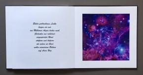 "Foto-Video-Buch ""Galaxien"""